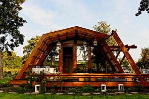 Hll bois petites maisons cologiques - Module habitation bois ...
